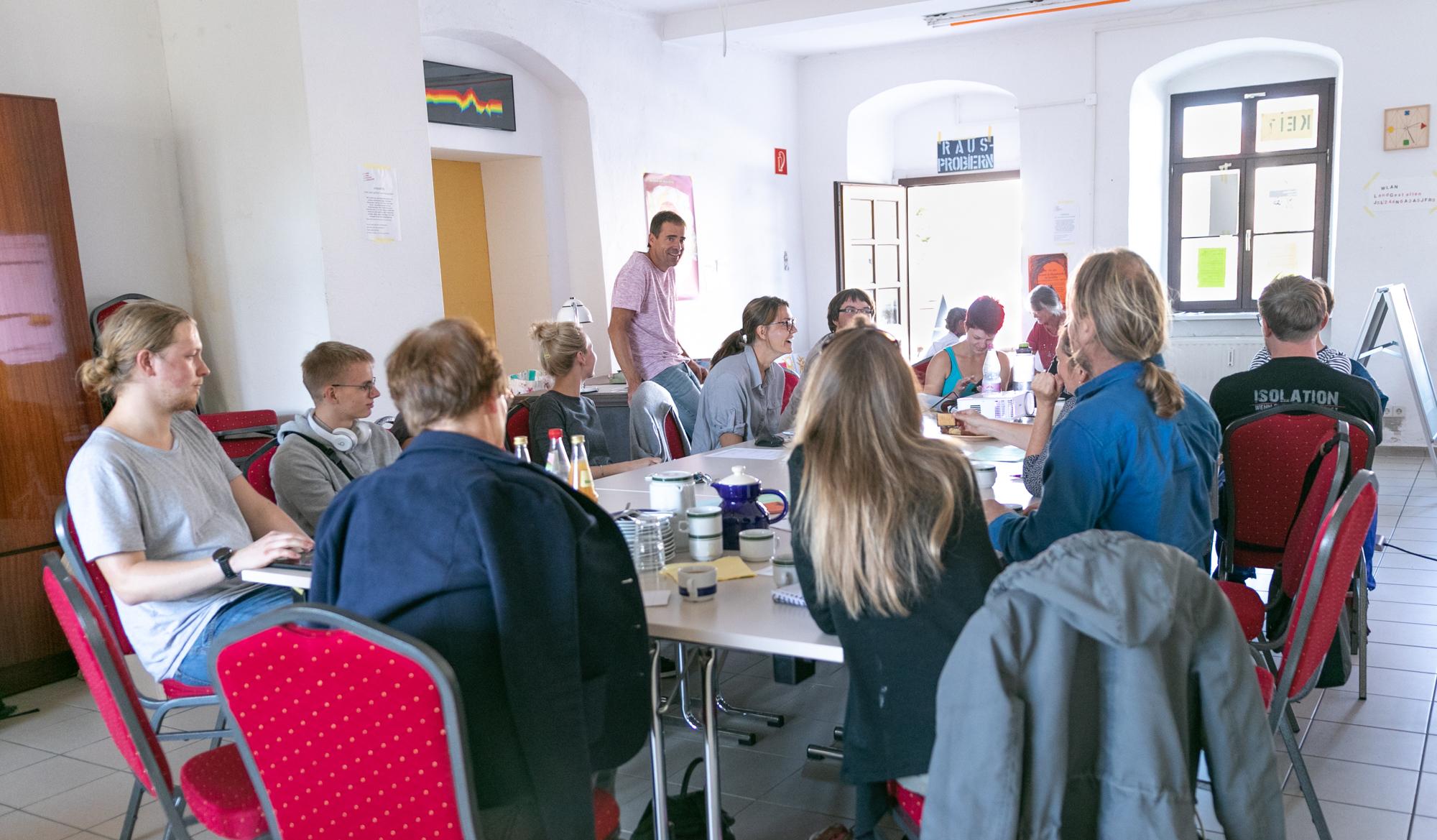 Planungs-Treffen für den Markt der Möglichkeiten