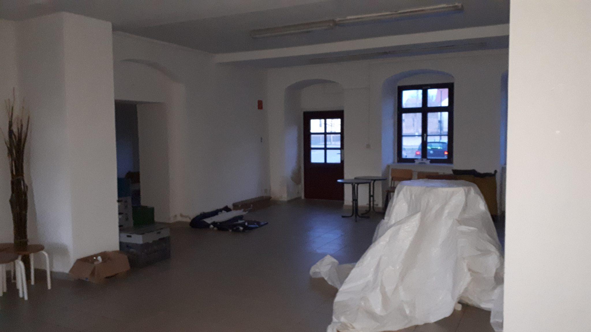 Keine Angst vor der leeren Leinwand:  Schlüssel fürs Atelier erhalten