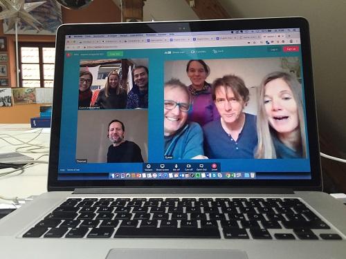 So fern und doch so nah..unser erstes virtuelles Team-Meeting