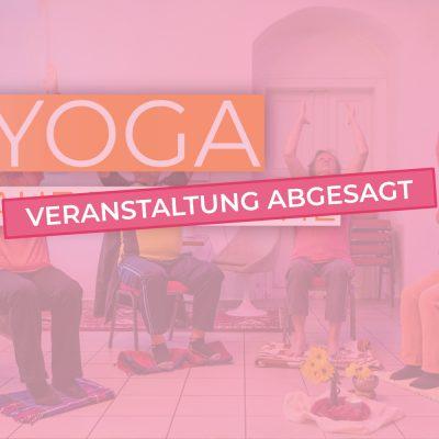 [Abgesagt] Yoga auf dem Stuhl