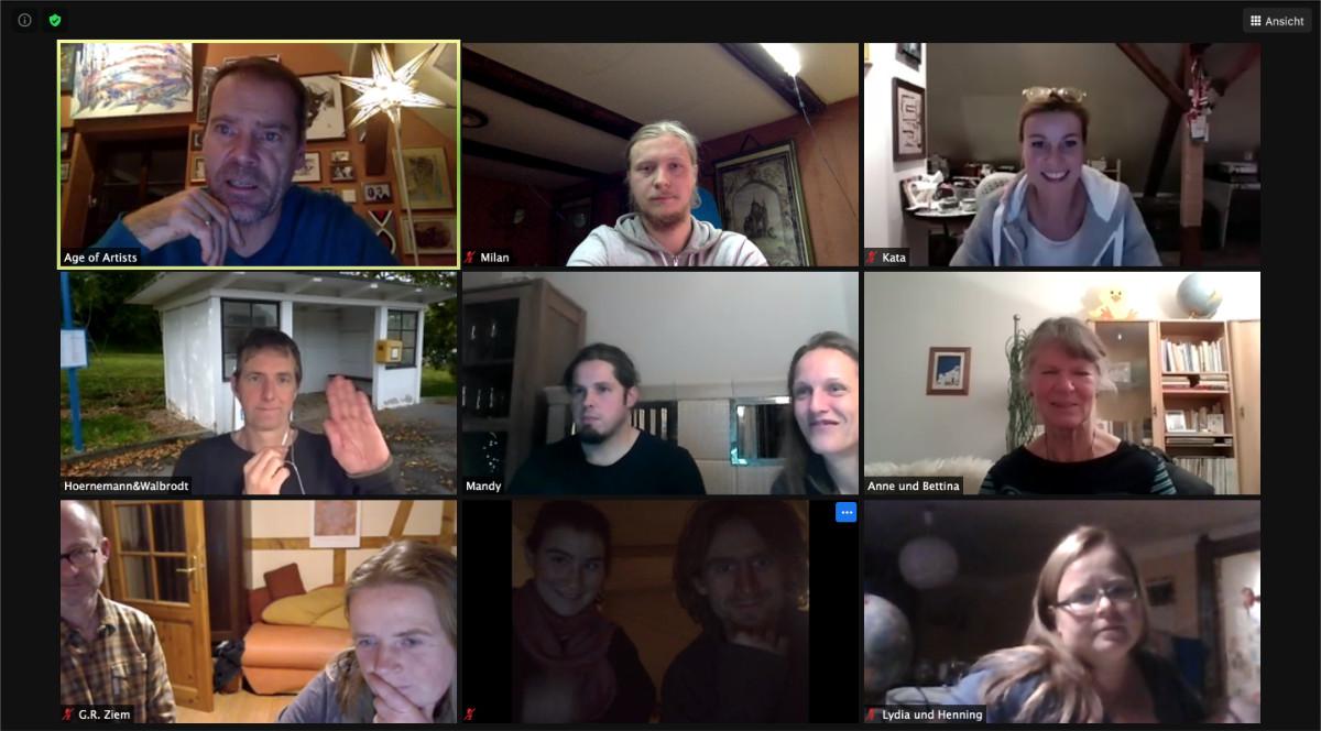 Erster Vorbereitungs-Workshop für unser nächstes großes Vereins-Projekt